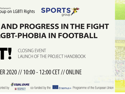 EUROPEAN PARLIAMENT EVENT ON THE FIGHT AGAINST LGBT-PHOBIA IN FOOTBALL