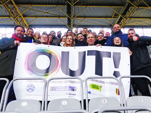 THE IMPORTANCE OF LGBT+ ALLIES IN FOOTBALL FANDOM