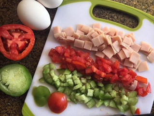 Praparando un desayuno saludable para 2 / Preparing a healthy breakfast for 2