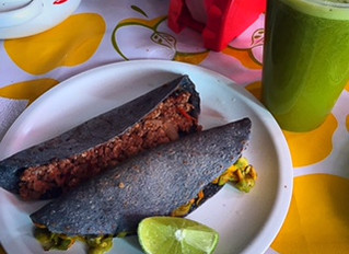 Healthy Mexican traditional cuisine