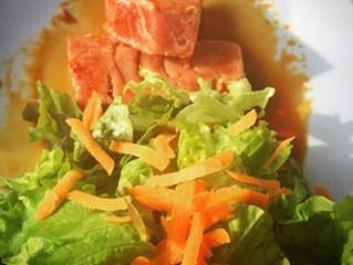 Healthy eating at a restaurant / Comiendo saludable en un restorán