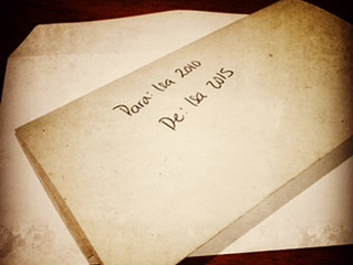 Letter to your past / Carta a tu pasado