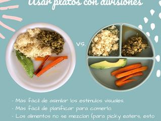 Usar plato con divisiones ~ picky eaters
