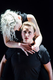 Alethea Alexander and Ally Morgan with Bellingham Repertory Dance
