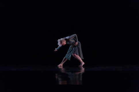 Alethea Alexander with the Chamber Dance Company