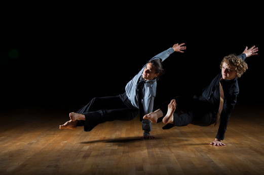 Alethea Alexander and Alona Christman with Bellingham Repertory Dance