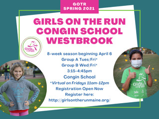 Girls On The Run is Coming to Congin!!