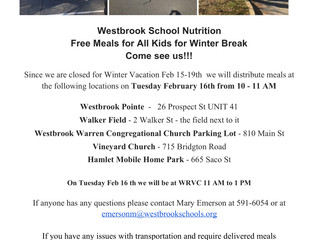 Free Meals for All Kids! Please see attached poster!