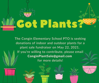 Donations Needed for the Plant Sale