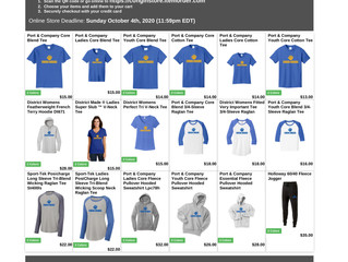 Congin Cougar Spirit Wear is On Sale Now! Click on the images here to order! All proceeds go to our