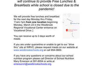 Please Share this School Nutrition Info with Our Congin Community!