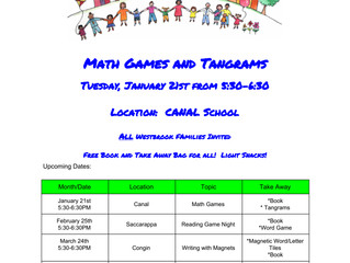 January Family Engagement at Canal School