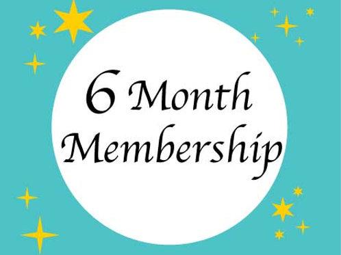 Six Month Membership for existing Santosha/HH members