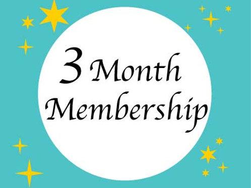 Three Month Membership for existing Santosha/HH members