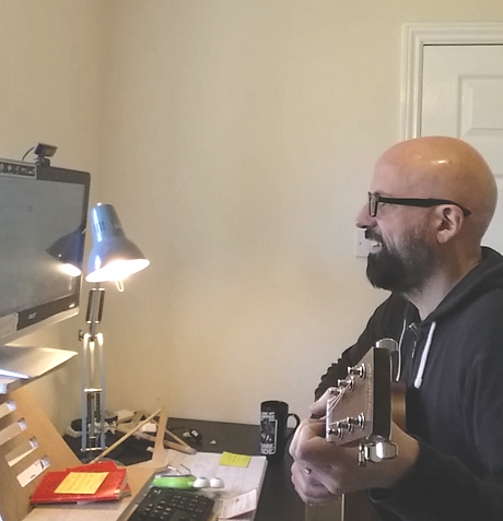 Guitar lessons over skype