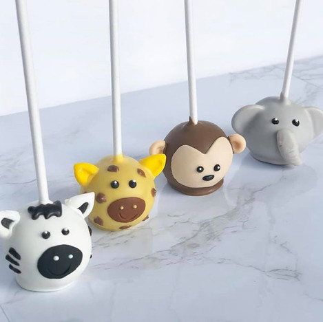 Safari Cake Pops