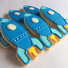 Spaceship Cookies