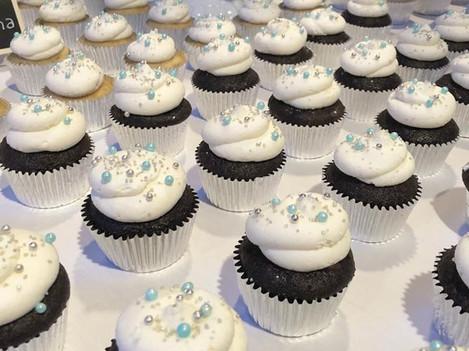 Chocolate Wedding Cupcakes