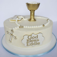 First Communion cake for Boy