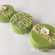 Spring Green Chocolate Covered Oreos