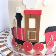 Train themed Birthday cake