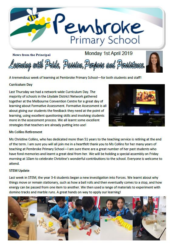 Click here for latest newsletter