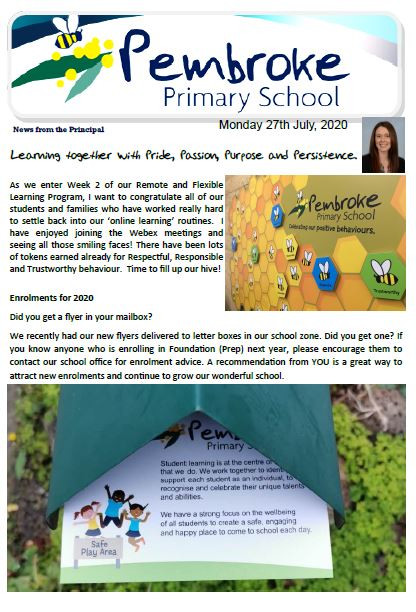 Click here for this weeks newsletter