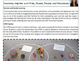 16 August 2021 Newsletter