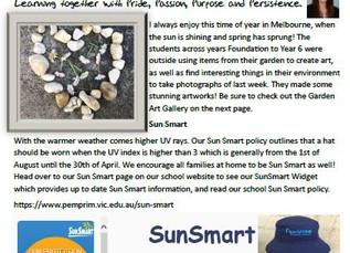 7th September 2020 Newsletter