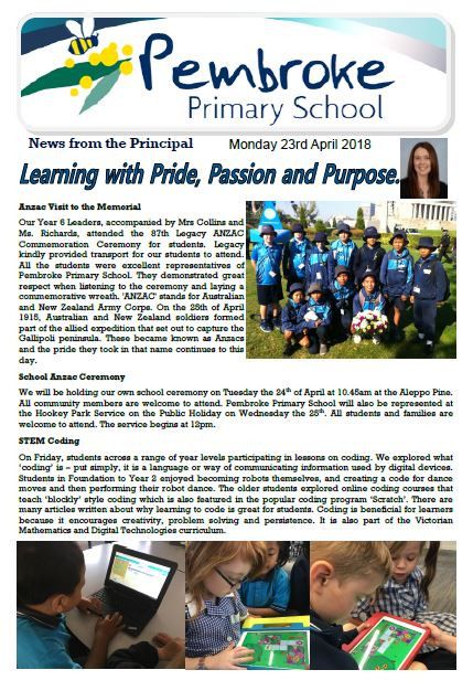 Click here to read Newsletter
