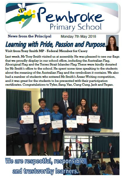 Click here to view latest newsletter