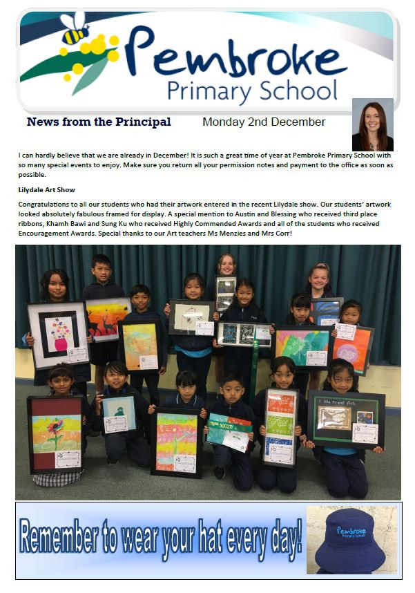 Please click her for the latest newsletter
