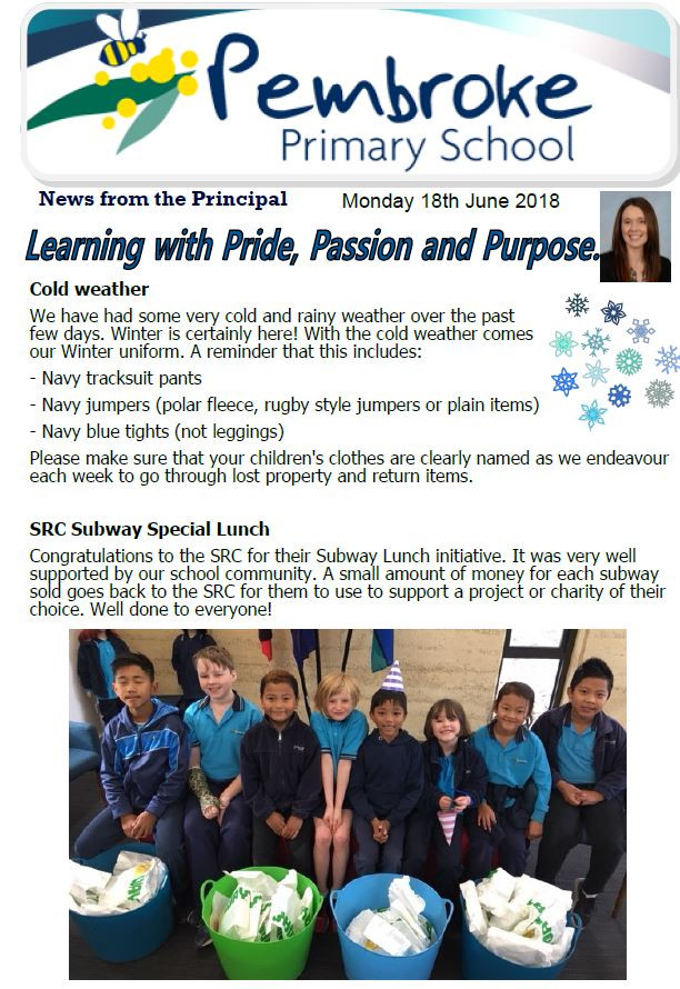 Click here for the latest newsletter