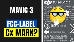 DJI Mavic 3 Confirmed by FCC database filing