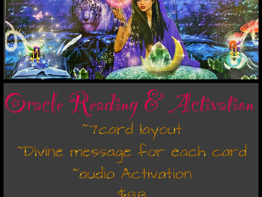 Cosmic Oracle Reading & Galactic Activation