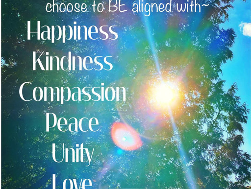 Choose to Consciously Align with...