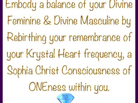 Krystal Heart Frequency!