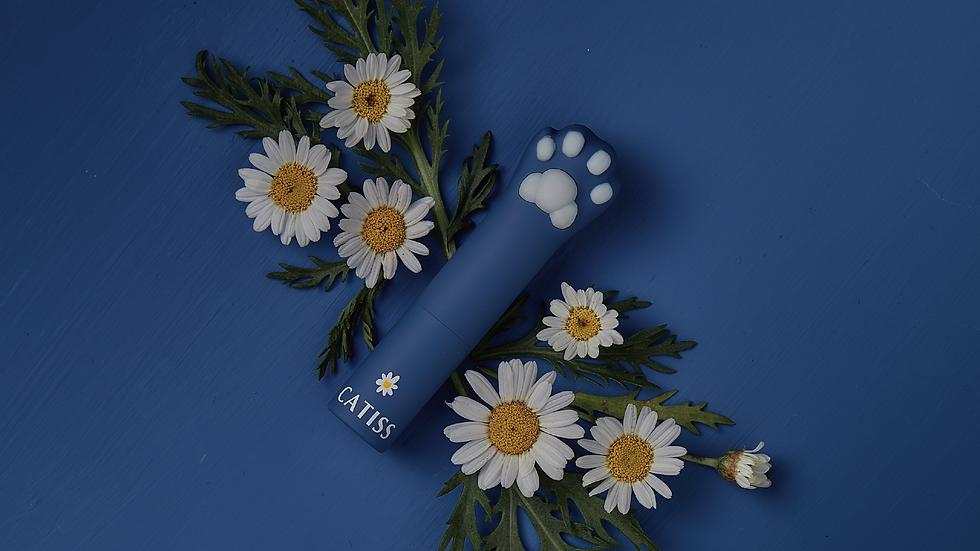 CATISS 貓掌潤唇膏-藍貓 | 洋甘菊