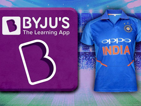 Why Byju's Indian Cricket Team Jersey Sponsorship Could Turn Out to be a Great Marketing Deal