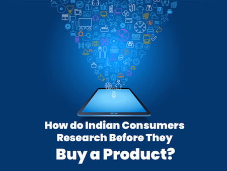 How do Indian Consumers Research Before They Buy a Product? - Ecommerce Survey 2020