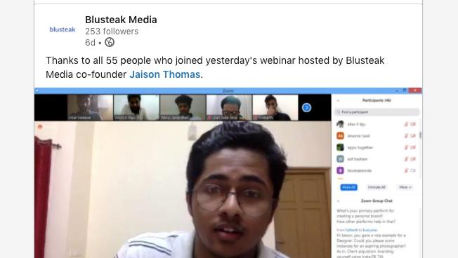 Jaison thomas webinar