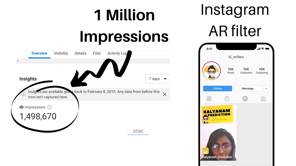 Instagram AR filter case study viral