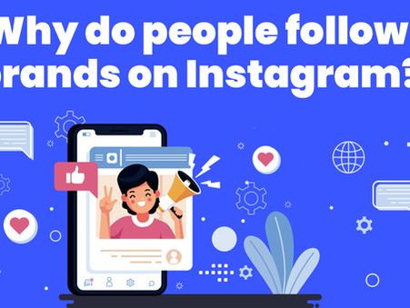 Why do people follow a brand on Instagram? E-commerce survey 2020