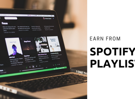 How to Get Paid for Making Spotify Playlists?