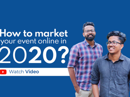 How to sell tickets for your small event/seminar online in 2020