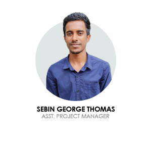 Sebin george blusteak assistant  project manager