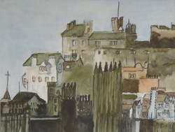 City Side of Edinburg Castle