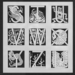 Goblin Alphabet S - Z