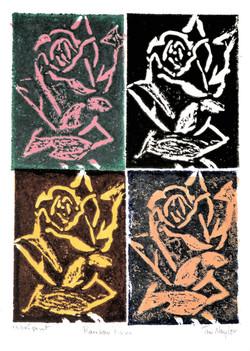 Rainbow Roses Relief