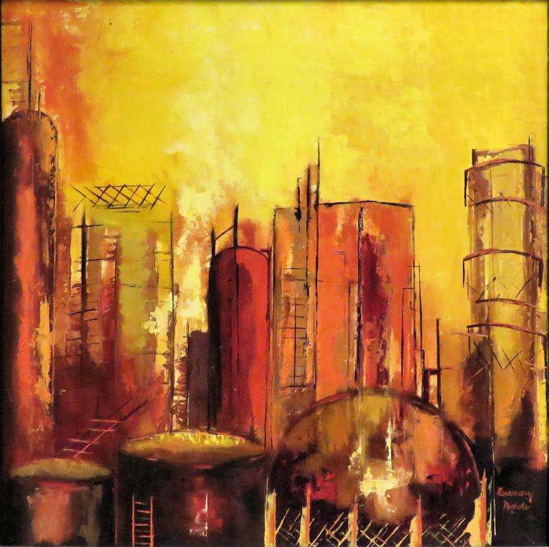 Houston Oil Refinery